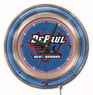 DePaul Blue Demons Neon Clock