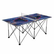 DePaul Blue Demons Pop Up 6' Ping Pong Table