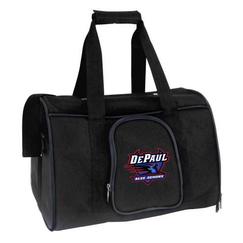 DePaul Blue Demons Premium Pet Carrier Bag
