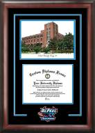 DePaul Blue Demons Spirit Diploma Frame with Campus Image