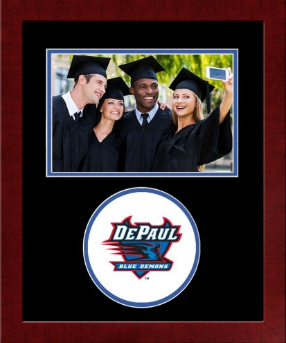DePaul Blue Demons Spirit Horizontal Photo Frame