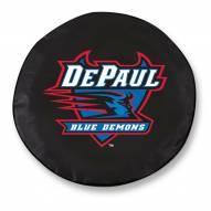 DePaul Blue Demons Tire Cover