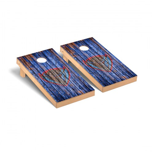 DePaul Blue Demons Weathered Cornhole Game Set