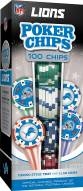 Detroit Lions 100 Poker Chips