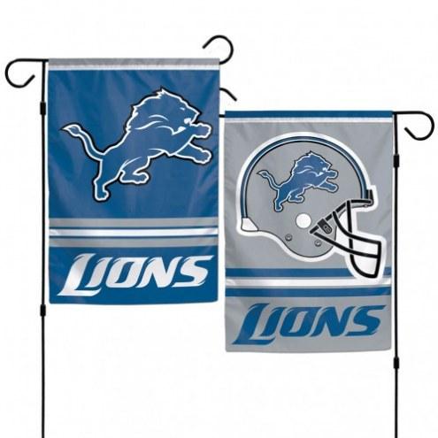 "Detroit Lions 11"" x 15"" Garden Flag"