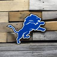 "Detroit Lions 12"" Steel Logo Sign"