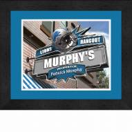 Detroit Lions 13 x 16 Personalized Framed Sports Pub Print
