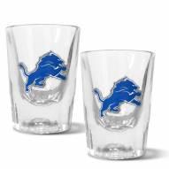 Detroit Lions 2 oz. Prism Shot Glass Set