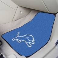 Detroit Lions 2-Piece Carpet Car Mats
