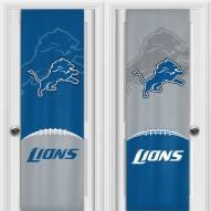 Detroit Lions 2 Sided Door Wrap