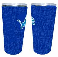 Detroit Lions 20 oz. Stainless Steel Tumbler with Silicone Wrap