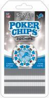 Detroit Lions 20 Piece Poker Chips Set