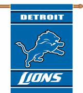 """Detroit Lions 28"""" x 40"""" Two-Sided Banner"""