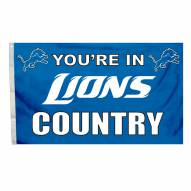 Detroit Lions 3' x 5' Country Flag