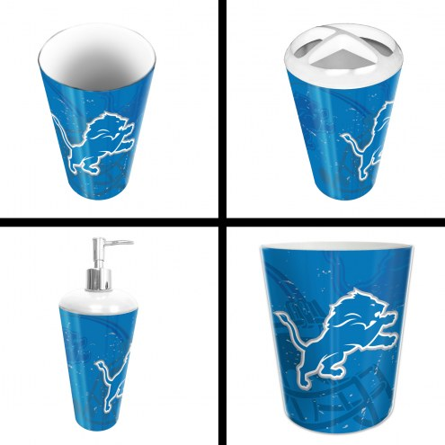 Detroit Lions 4-Piece Bath Set