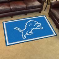 Detroit Lions 4' x 6' Area Rug