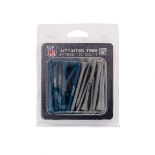 Detroit Lions 50 Golf Tee Pack