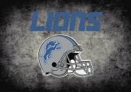 Detroit Lions 6' x 8' NFL Distressed Area Rug