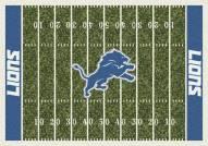 Detroit Lions 6' x 8' NFL Home Field Area Rug