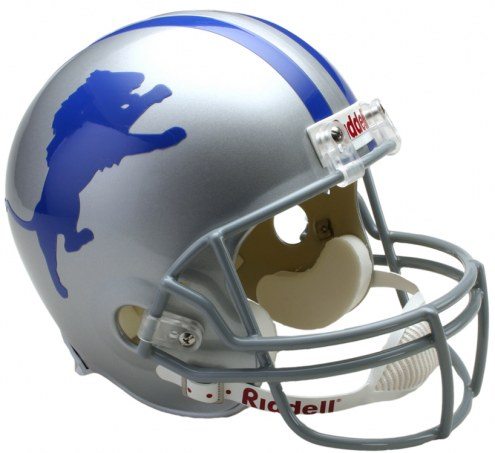 Detroit Lions 62-68 Riddell VSR4 Collectible Full Size Football Helmet
