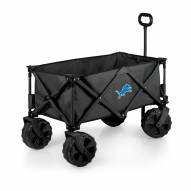Detroit Lions Adventure Wagon with All-Terrain Wheels