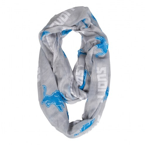 Detroit Lions Alternate Sheer Infinity Scarf