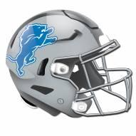 Detroit Lions Authentic Helmet Cutout Sign