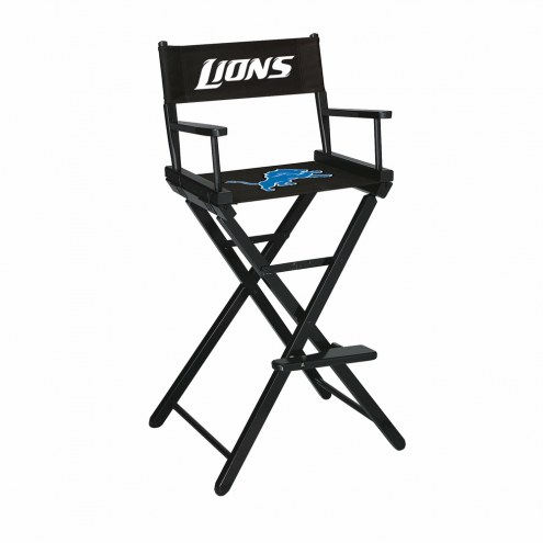 Detroit Lions Bar Height Director's Chair