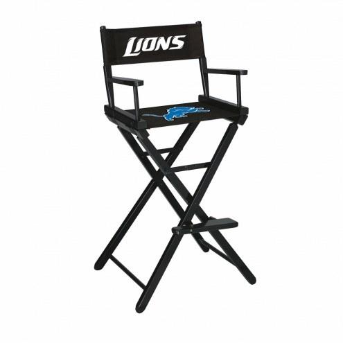 Detroit Lions Bar Height Director's Chair