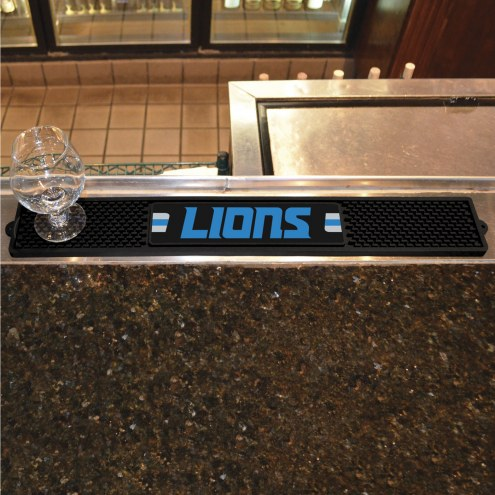 Detroit Lions Bar Mat