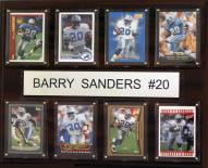 """Detroit Lions Barry Sanders 12"""" x 15"""" Card Plaque"""
