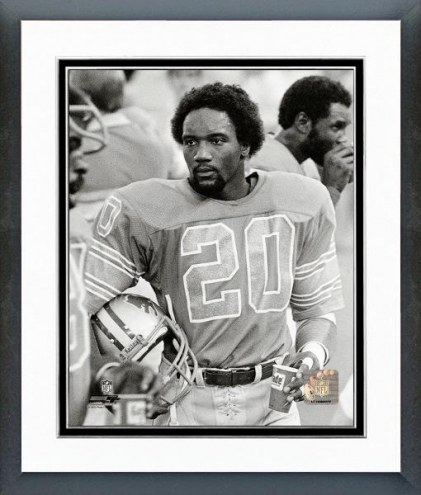 Detroit Lions Billy Sims 1980 Action Framed Photo