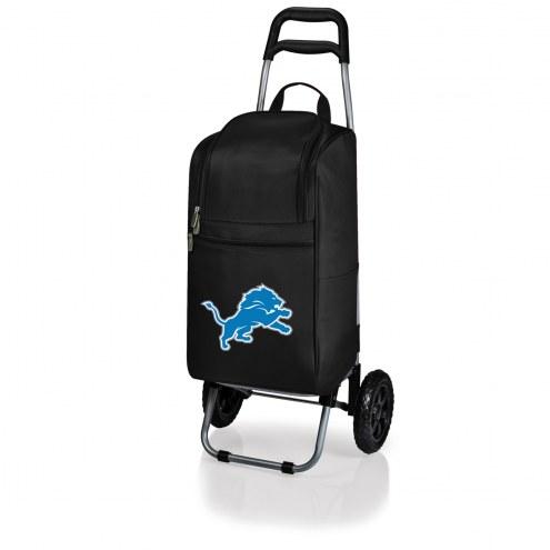 Detroit Lions Black Cart Cooler