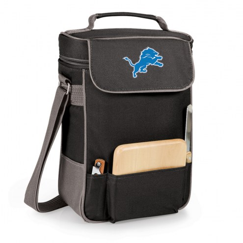 Detroit Lions Black Duet Insulated Wine Bag