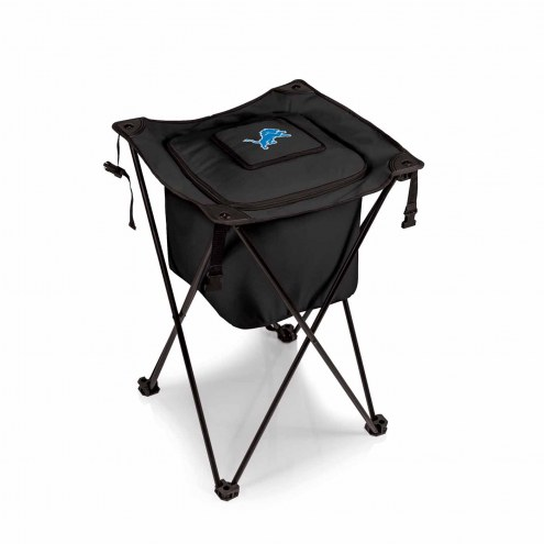 Detroit Lions Black Sidekick Portable Cooler