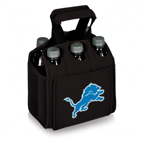 Detroit Lions Black Six Pack Cooler Tote