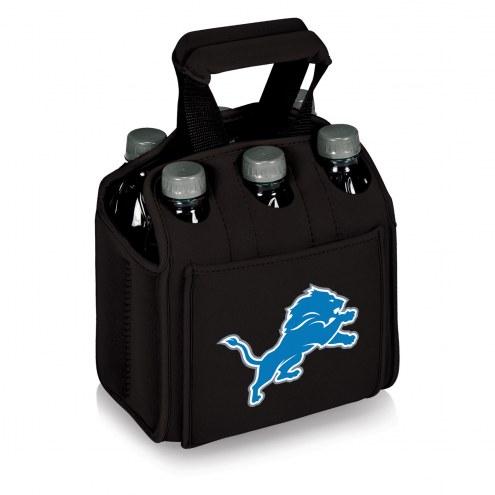 Detroit Lions Black Six Pack Cooler Tote