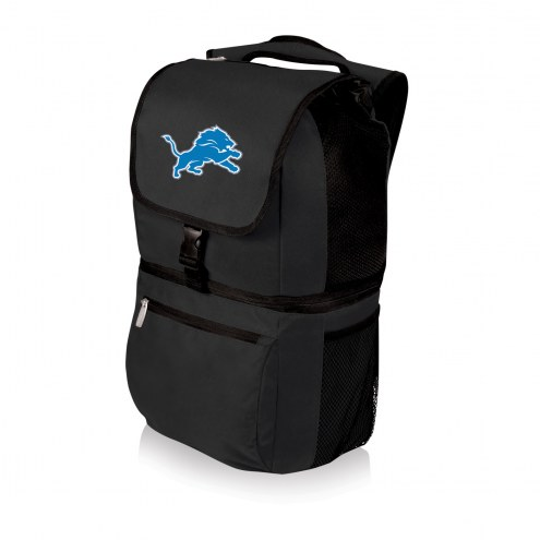 Detroit Lions Black Zuma Cooler Backpack