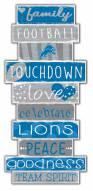 Detroit Lions Celebrations Stack Sign