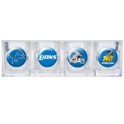 Detroit Lions Collector's Shot Glass Set