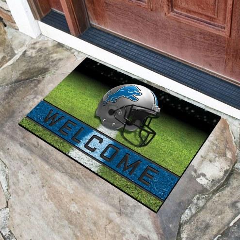 Detroit Lions Crumb Rubber Door Mat