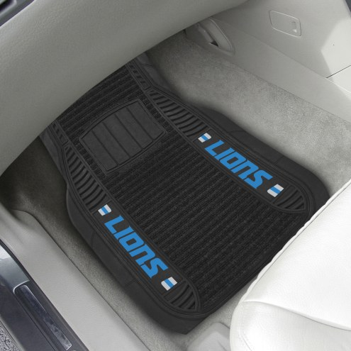 Detroit Lions Deluxe Car Floor Mat Set