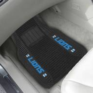 Detroit Lions Deluxe Car Floor Mat Set