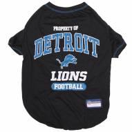 Detroit Lions Dog Tee Shirt