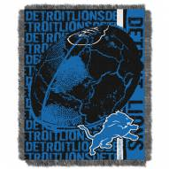 Detroit Lions Double Play Jacquard Throw Blanket