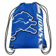 Detroit Lions Drawstring Backpack