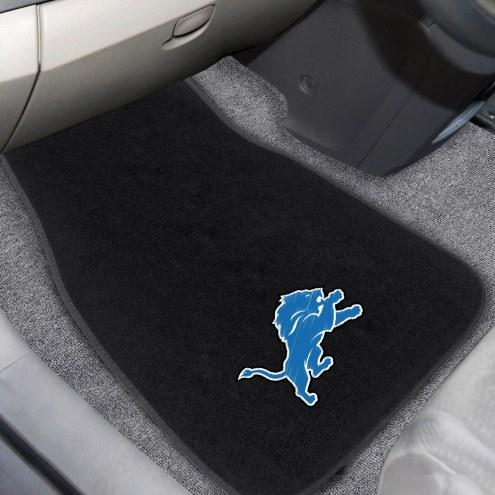 Detroit Lions Embroidered Car Mats