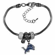 Detroit Lions Euro Bead Bracelet