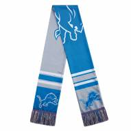 Detroit Lions Colorblock Big Logo Scarf