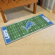 Detroit Lions Football Field Runner Rug